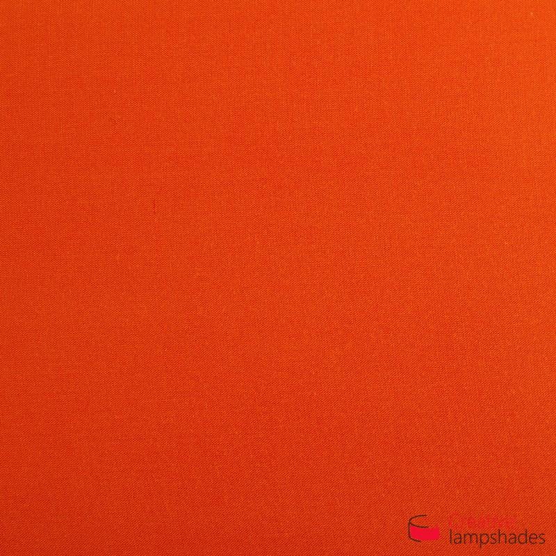 Paralume Cilindro Rivestimento Teletta Arancio