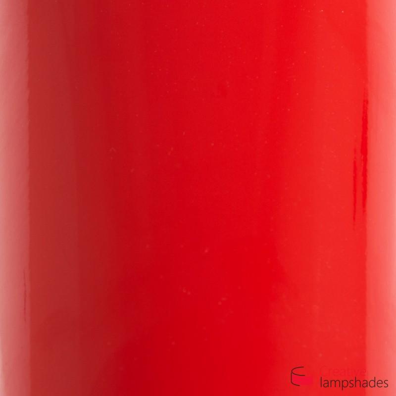 Paralume Cilindro Rivestimento Lumiere Rosso