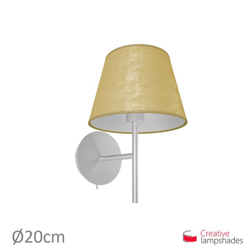 Lamp shade gold leaf covering empire lamp shade gold leaf covering aloadofball Images