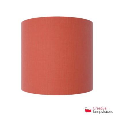 Paralume Ventola Cilindrica a parete con Scatolina Teletta Rosso