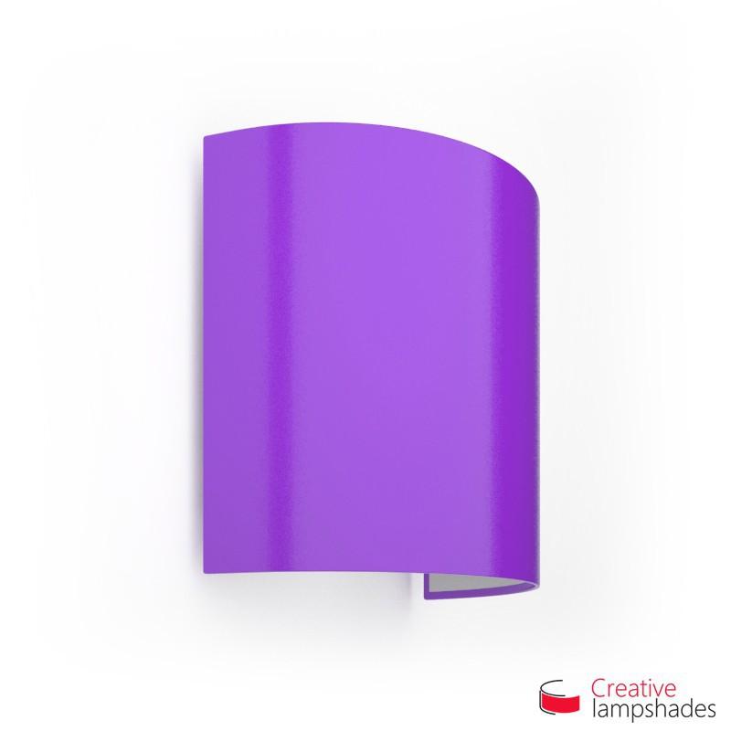 Paralume Ventola Cilindrica a parete con Scatolina Lumiere Viola