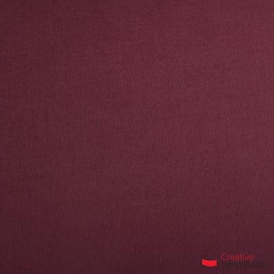 Paralume ventola sagomata per applique a muro rivestimento Teletta Bordeaux