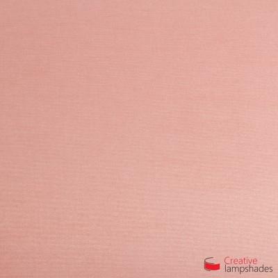 Paralume ventola sagomata per applique a muro rivestimento Cinette Rosa Antico
