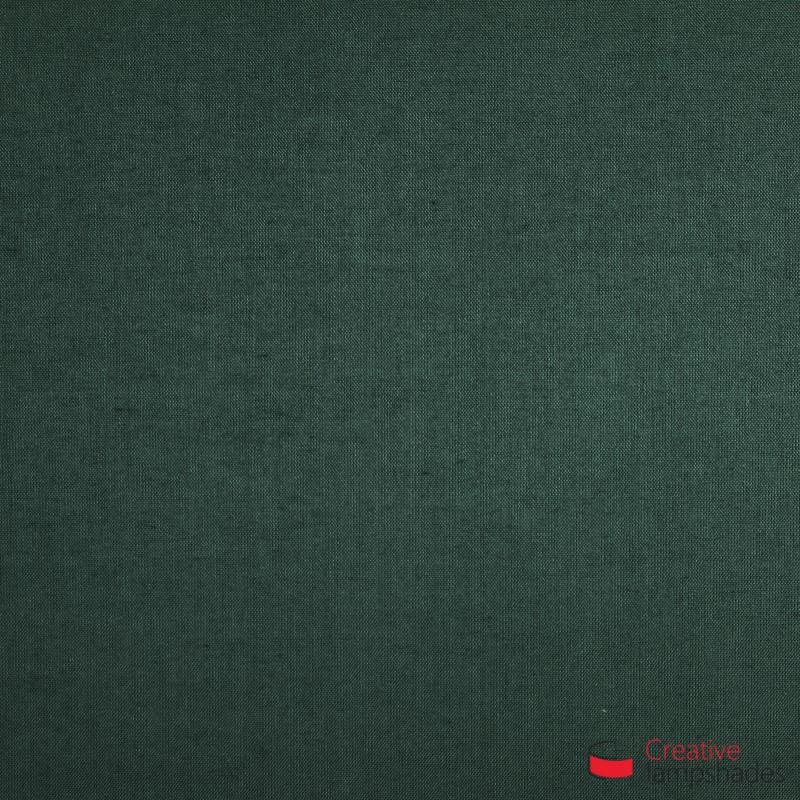 Paralume ventola sagomata per applique a muro rivestimento Teletta Verde Scuro