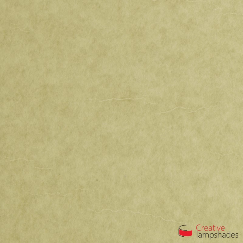 Paralume ventola sagomata per applique a muro rivestimento Pergamena Chiara