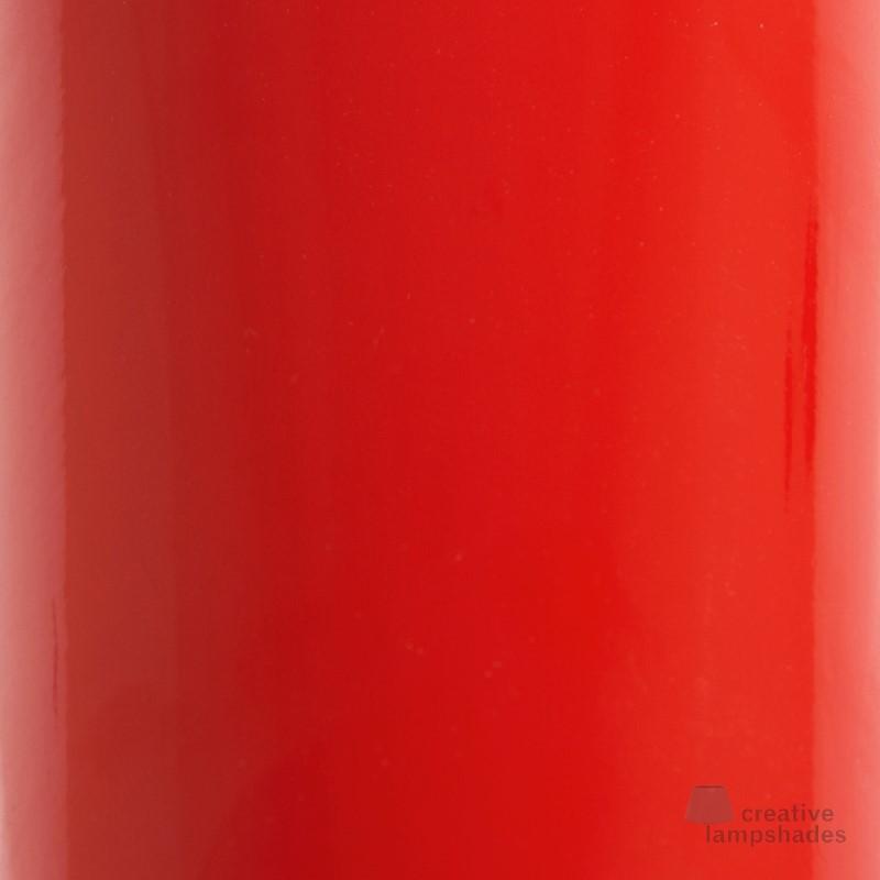 Plafoniera tonda rivestimento Lumiere Rosso