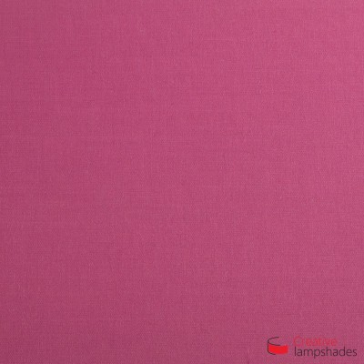 Square ceiling lamp with Fuchsia Pink Canvas cover