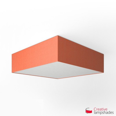Square ceiling lamp with Lobster Cinette cover