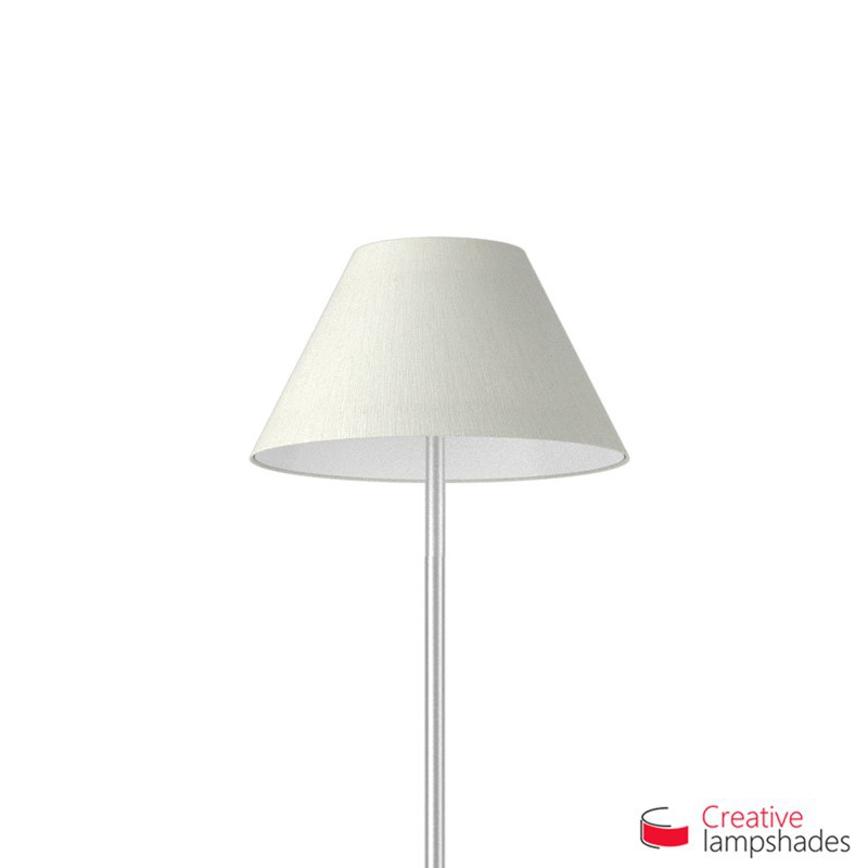 Chinese lampshade with White Raw cotton covering