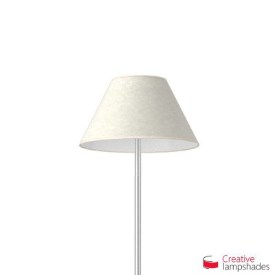 Chinese lampshade with White Parchment covering