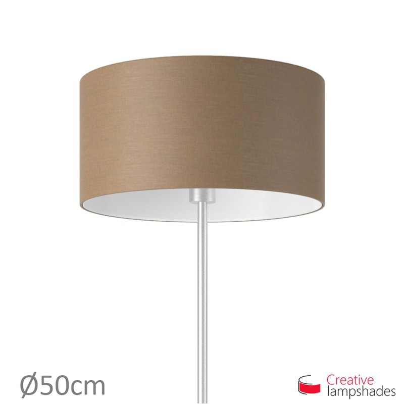 Grey Arenal Cylinder Lamp Shade