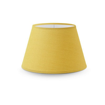 Empire lampshade with Golden Yellow Canvas covering
