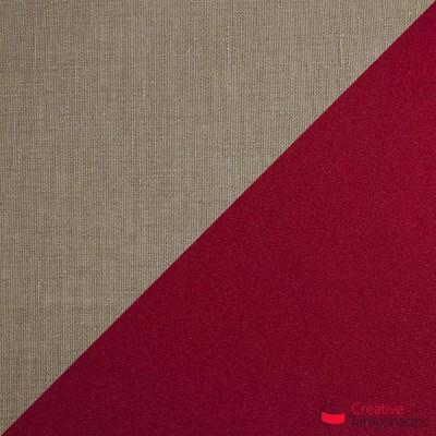 Otta die achteckig zweifarbige Pendelleuchte - grau und bordeaux