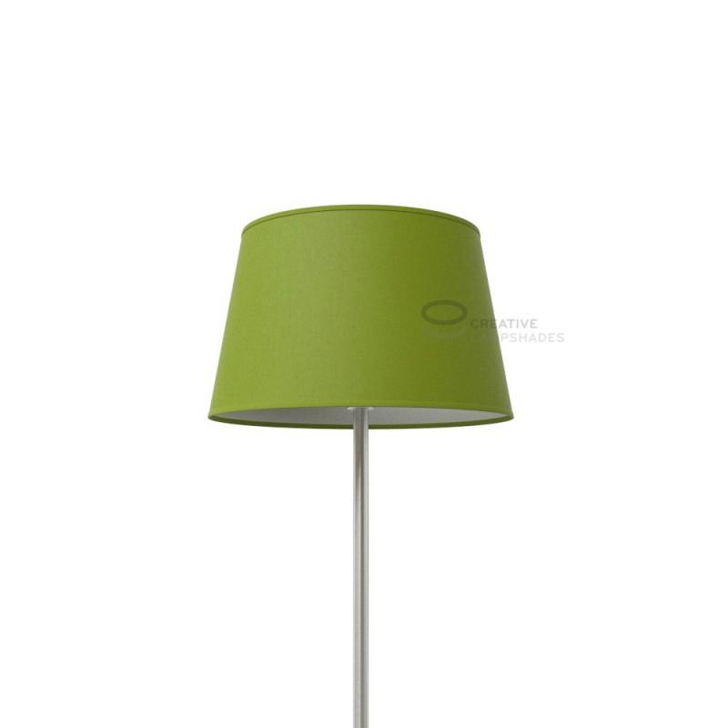 Abat Jour Toile Vert Ovale Olive Revêtement QdCxEroBeW