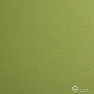 Paralume Ovale rivestimento Teletta Verde Oliva