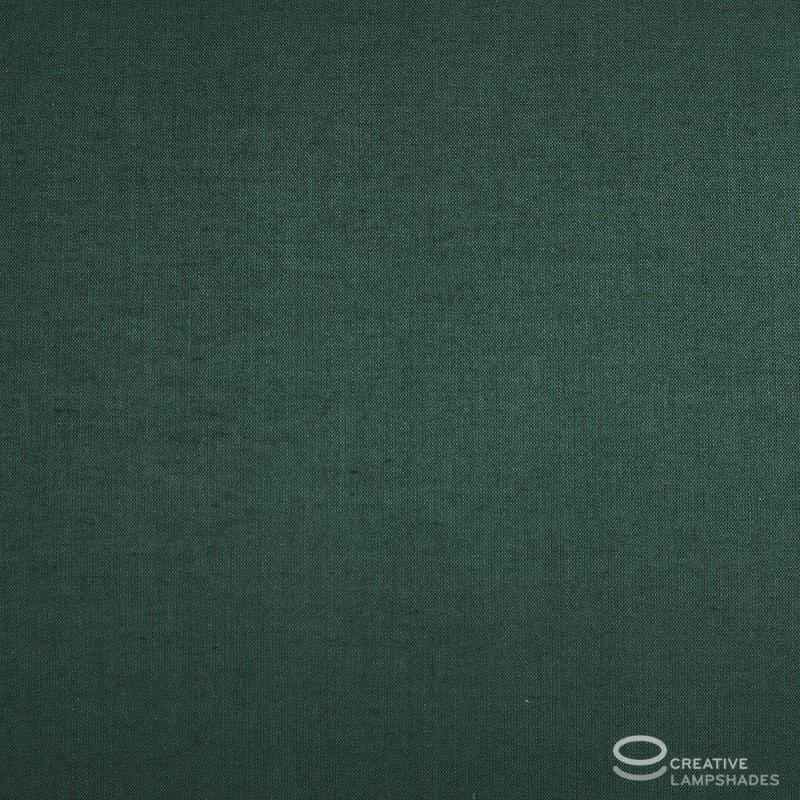 Paralume Ovale rivestimento Teletta Verde Scuro