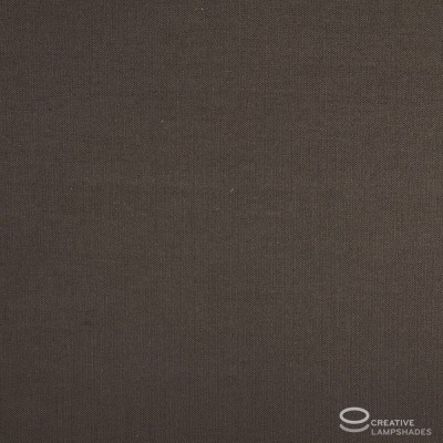 Paralume Ovale rivestimento Teletta Marrone
