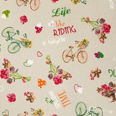 Pantalla Oval recubrimiento Tela Bike
