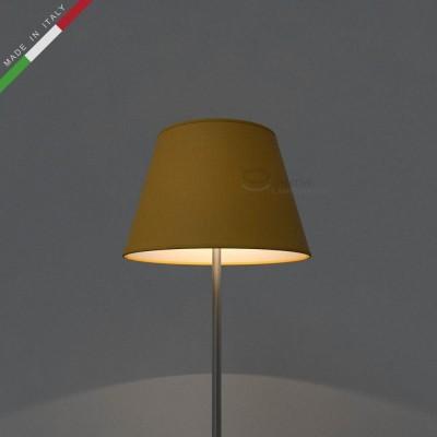 Empire Lamp Shade Golden Yellow canvas