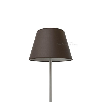 Empire Lamp Shade Brown canvas