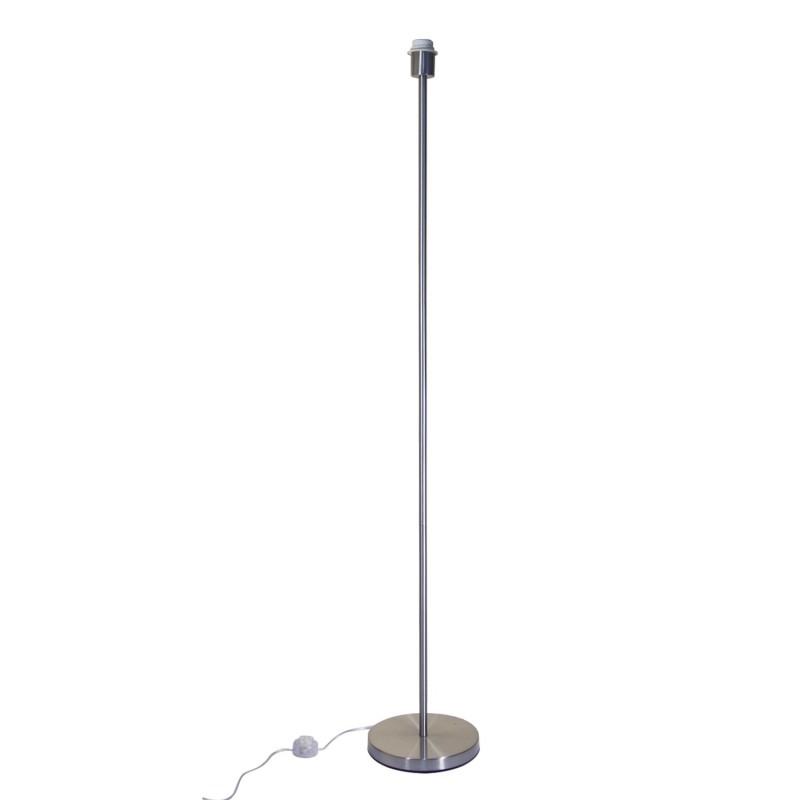 Pied de lampadaire en métal E 27 max 60 w
