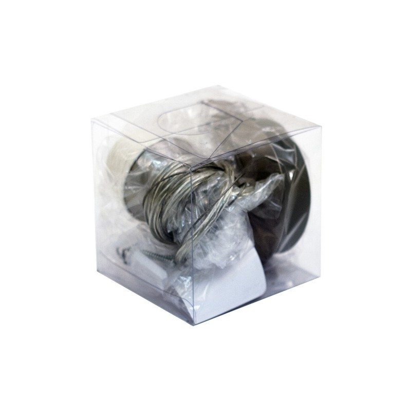 Pendelleuchte rund Metall silber Single E 27 max 60 W