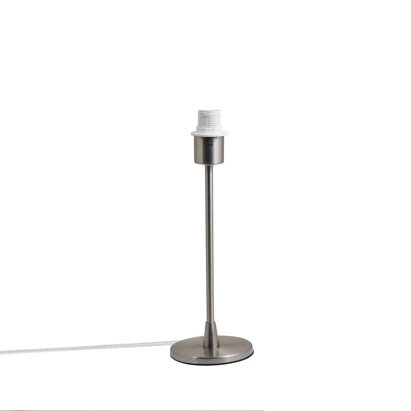Simply smooth metal lamp base E 14 max 40 W