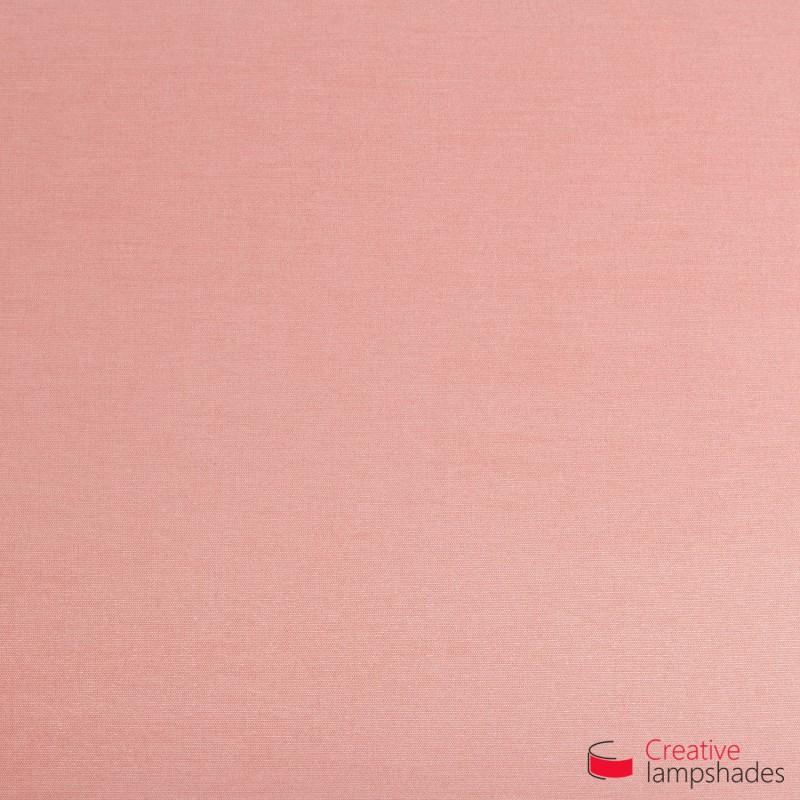 Abat-Jour Cylindre Revêtement Cinette Rose Antique