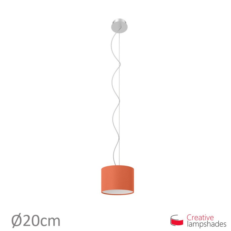 Lobster Cinette Cylinder Lamp Shade