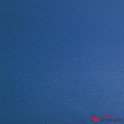 Blue Cinette Cylinder Lamp Shade
