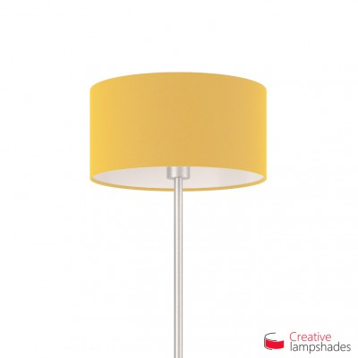 Golden Yellow Cylinder Lamp Shade