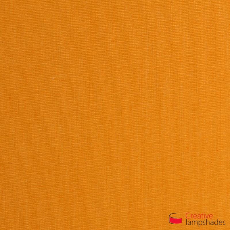 Pantalla Cilindro Recubrimiento Tela Mandarina