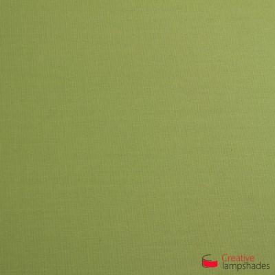 Lampenschirm Zylinder olivgrün hell Leinwand