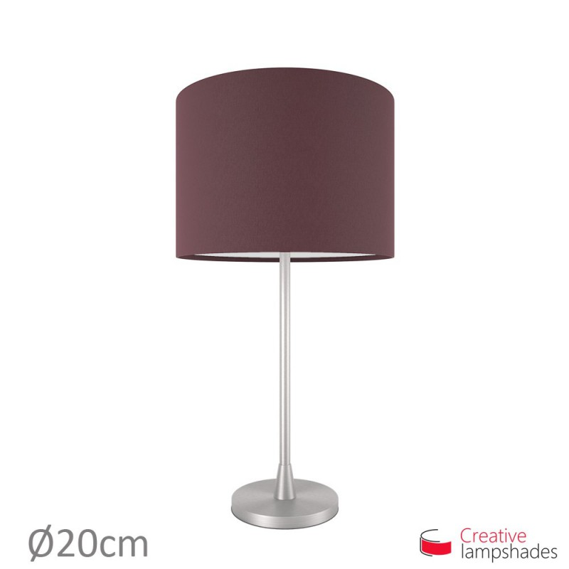 Cylinder Shade Fabric:Dark Violet