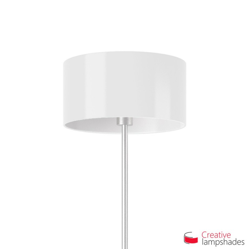 Lumiere cylinder lamp shade white lumiere cylinder lamp shade mozeypictures Image collections