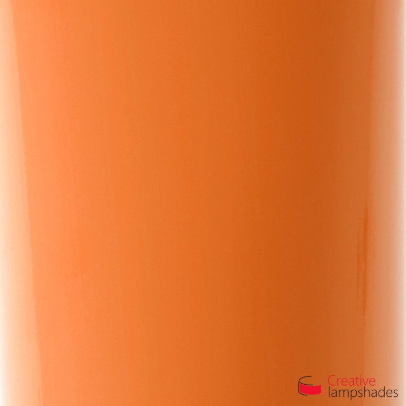 Orange Lumiere Cylinder Lamp Shade