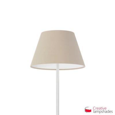 Empire Lamp Shade Hazel Canvas covering