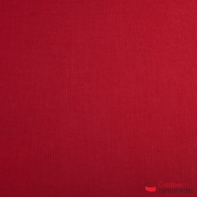 Empire Lamp Shade Red Canvas covering