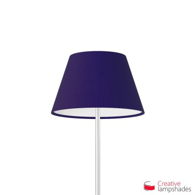 Empire Lamp Shade Blue Canvas covering