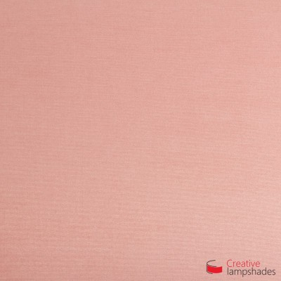 Empire Lamp Shade Antique Pink Cinette covering