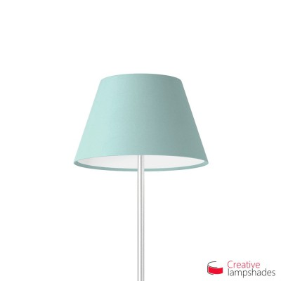 Empire Lamp Shade Heavenly Blue Cinette covering