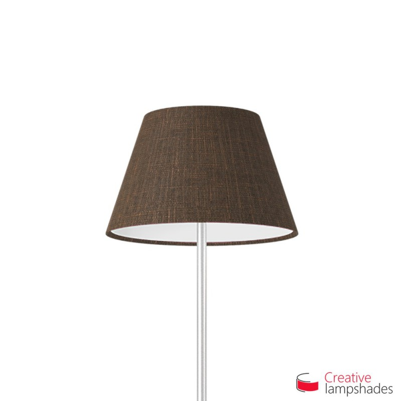 Empire Lamp Shade Brown Camelot covering