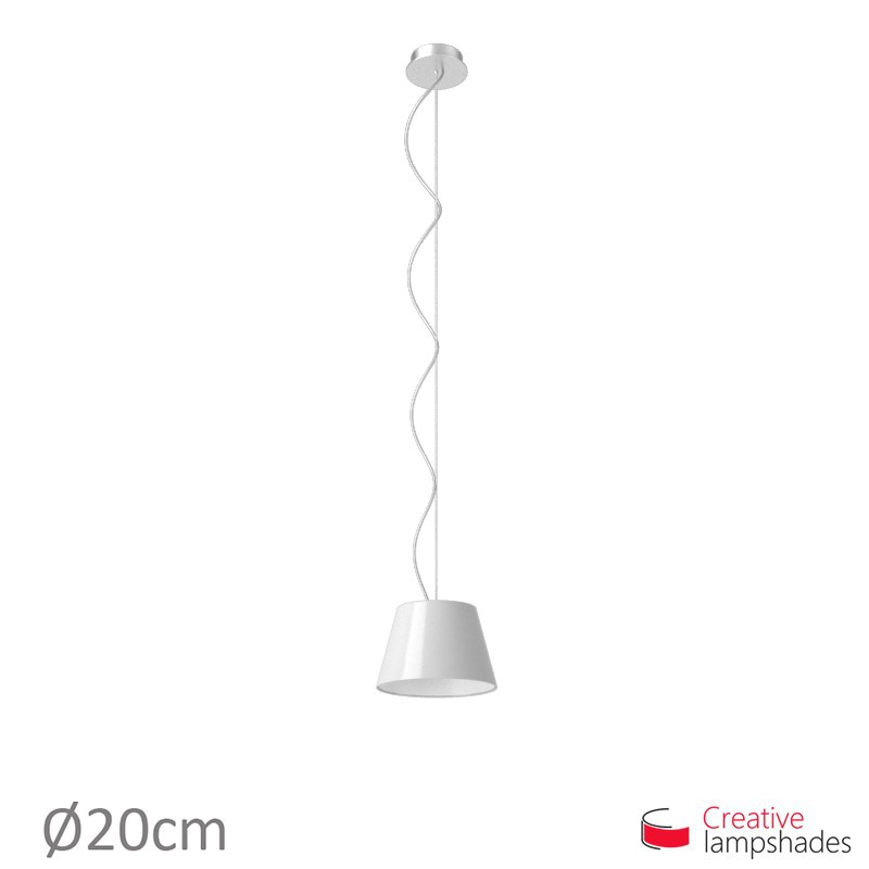 Empire Lamp Shade White Lumiere covering
