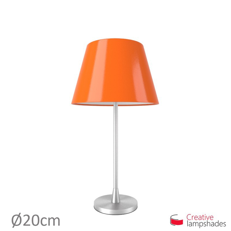 Empire Lamp Shade Orange Lumiere covering