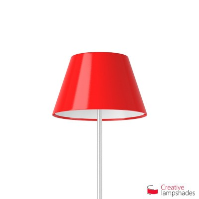 Empire Lamp Shade Red Lumiere covering