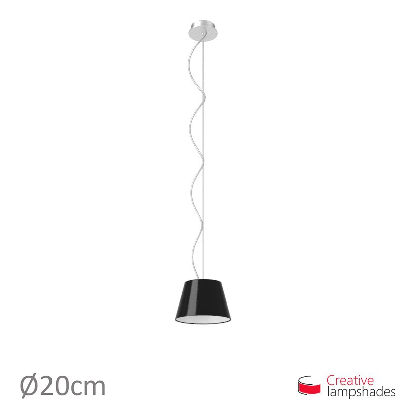 Empire Lamp Shade Black Lumiere covering