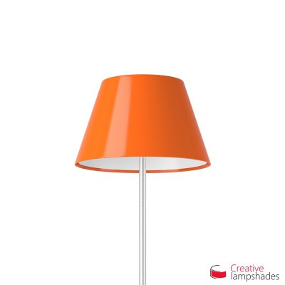 Empire Lamp Shade Orange Lumiere covering