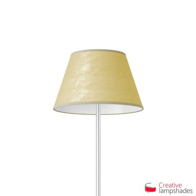 Empire Lamp Shade Gold Leaf covering