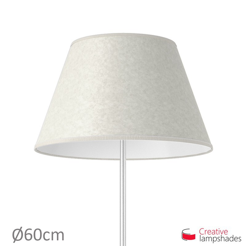 Empire Lamp Shade White Parchment covering