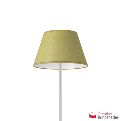 Empire Lamp Shade Yellow Parchment covering